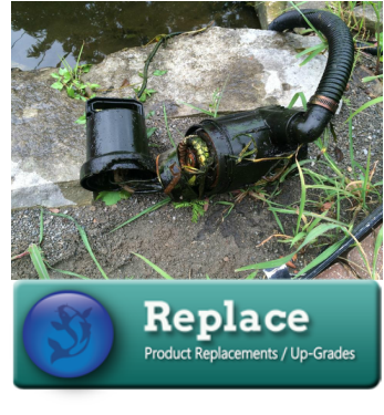 Koi Pond & Waterfall Liner Replacement/Leak Repair Services In Western (NY) - Acorn