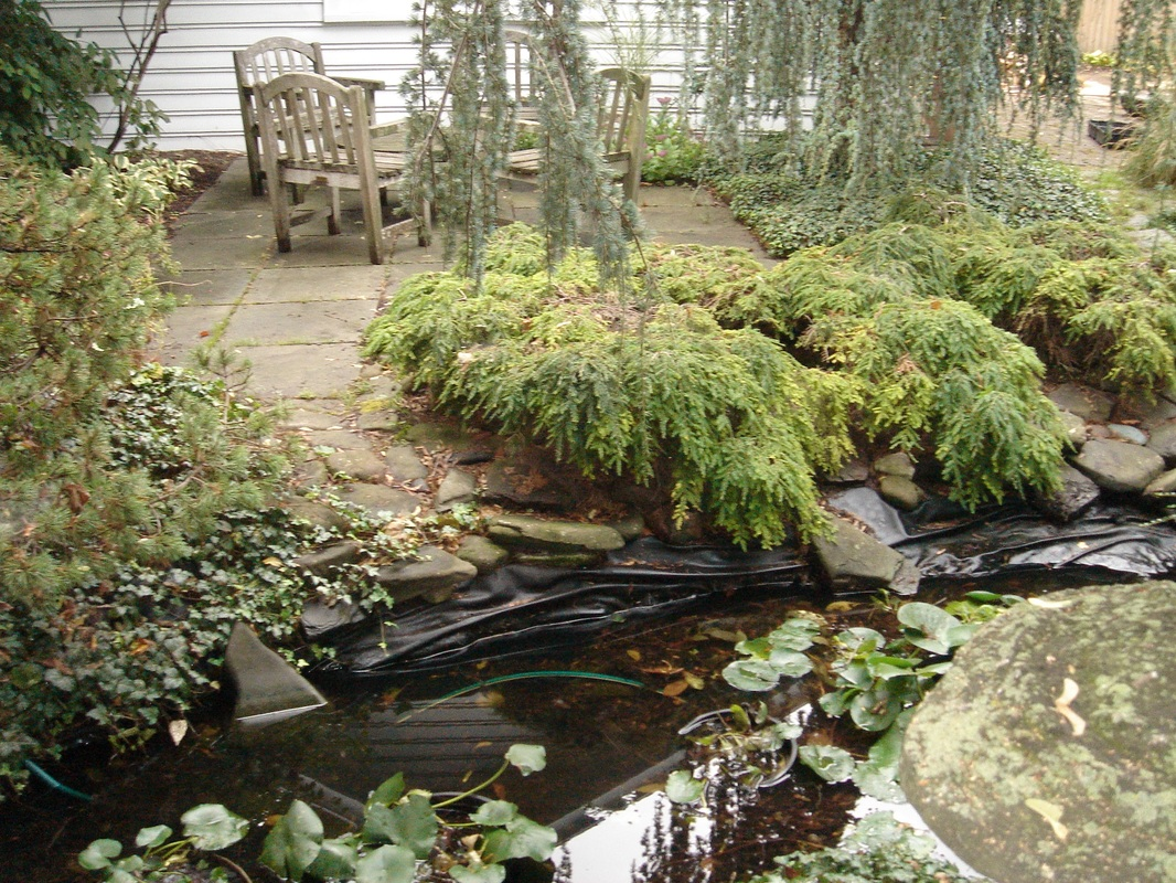 Hire A Pro To Replace Your Pond Liner - Acorn Ponds & Waterfalls