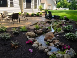 Natural Looking Stream Installation, Renovation & Repair Service