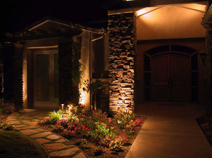 Enjoy Your Professionally Installed LED Landscape Lighting By Acorn Ponds & Waterfalls